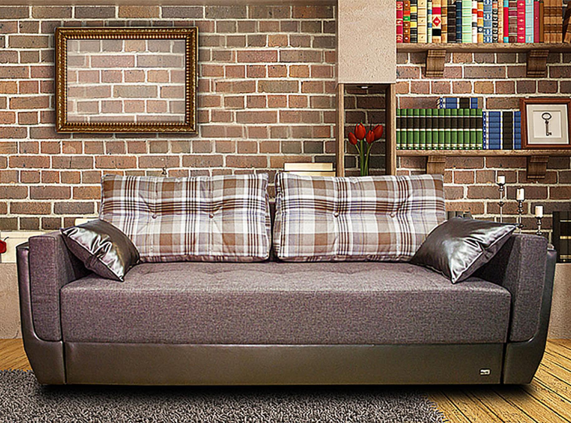 Диван-кровать кожаный Мартин-2